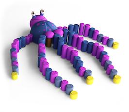 3D Kaheksajalg