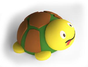 3D Kilpkonn