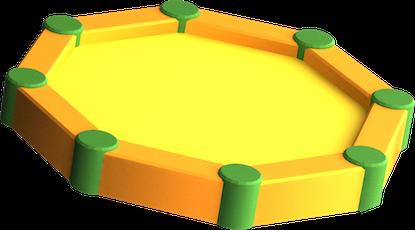 3D Liivakast 1