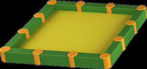 3D Liivakast 2