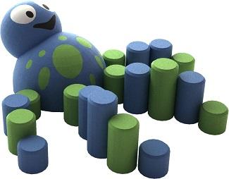 3D Mini Kaheksajalg