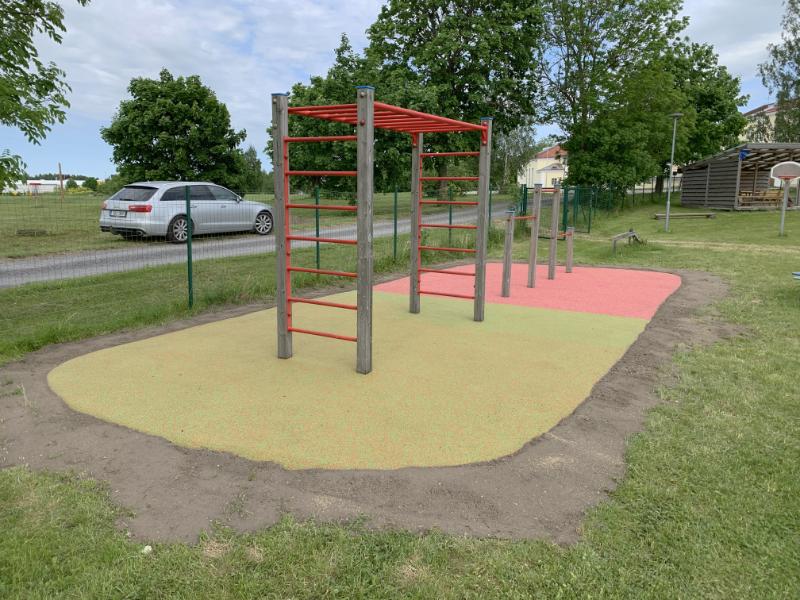 Uuemõisa Lastaed-Algkool mänguväljaku turvakatendid