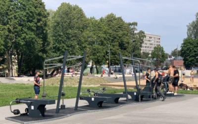 Vilde Spordipargi innovaatiline välijõusaal
